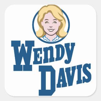 テキサス州の知事2014年のためのウェンディーデービス スクエアシール