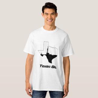 テキサス州の石油開発の装備 Tシャツ