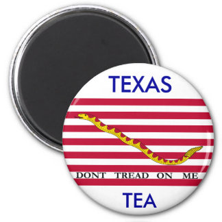 テキサス州の茶は私で、踏みません マグネット