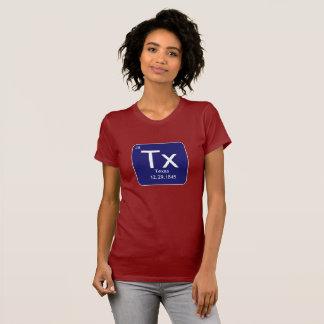 テキサス州の要素レディースTシャツ Tシャツ