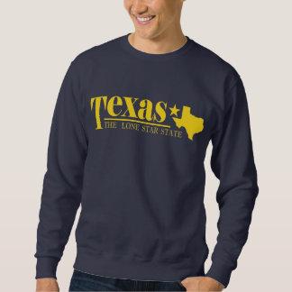 テキサス州の金ゴールド スウェットシャツ