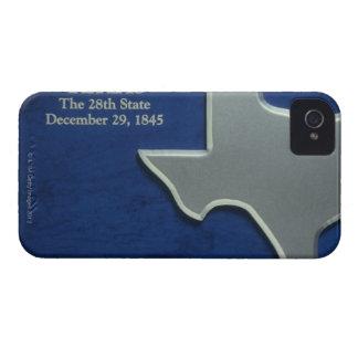 テキサス州の銀製の地図 Case-Mate iPhone 4 ケース