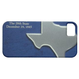 テキサス州の銀製の地図 iPhone 5 ベアリーゼアケース