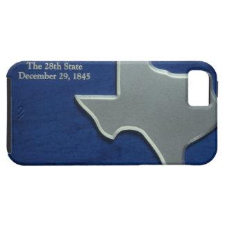 テキサス州の銀製の地図 iPhone SE/5/5s ケース