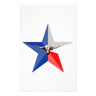 テキサス州の長角牛記号のの力の倍数のproduc 便箋