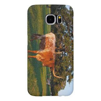 テキサス州の長角牛 SAMSUNG GALAXY S6 ケース