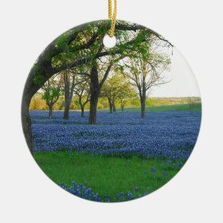 テキサス州の青のボンネット セラミックオーナメント