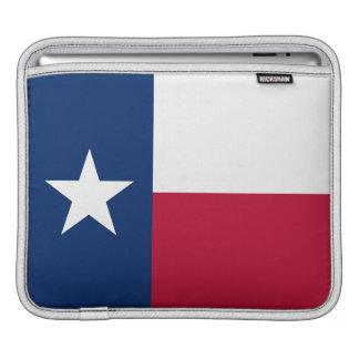 テキサス州の~のipadの場合の州の旗 iPad 用スリーブ