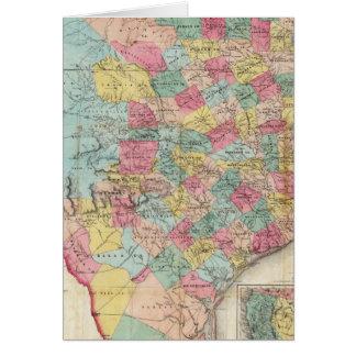 テキサス州のDe Cordova's Map カード