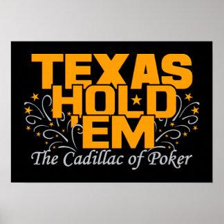 テキサス州はそれらをポスター握ります ポスター