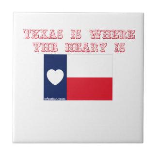 テキサス州はハートがあるところにです タイル