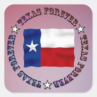 テキサス州は永久にデザイン- Mult_Products --を一周します スクエアシール