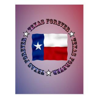 テキサス州は永久にデザイン- Mult_Products --を一周します ポストカード