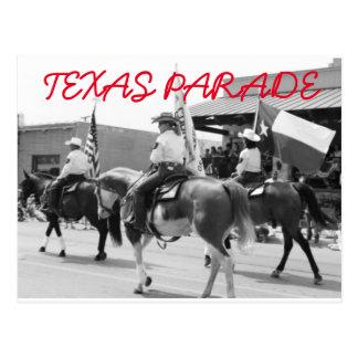 テキサス州パレードの郵便はがき ポストカード