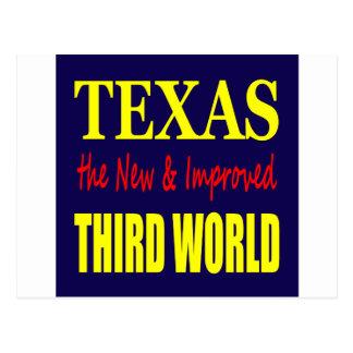 テキサス州新しい及び改良された第三世界 ポストカード