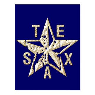 テキサス州星 ポストカード