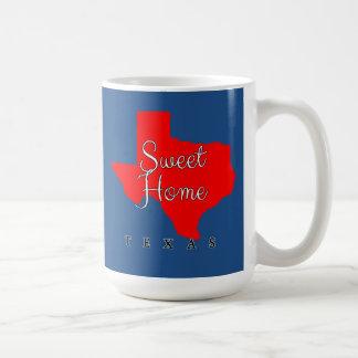 テキサス州甘い家のテキサス州 コーヒーマグカップ