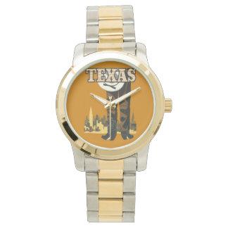 テキサス州米国のヴィンテージ旅行腕時計 腕時計