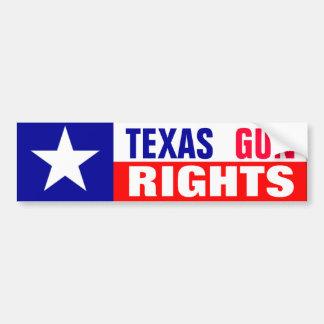 テキサス州銃の権利 バンパーステッカー