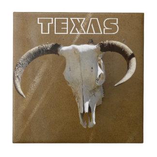 テキサス州長角牛牛スカル タイル