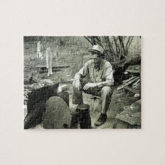 テキサス州1939年の移住者 ジグソーパズル