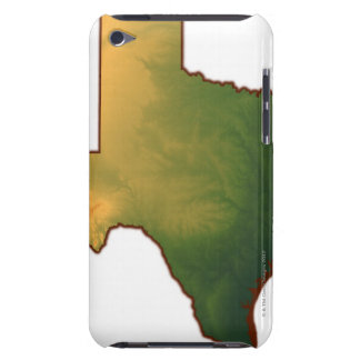テキサス州4の地図 Case-Mate iPod TOUCH ケース
