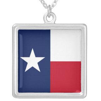 テキサス州 シルバープレートネックレス