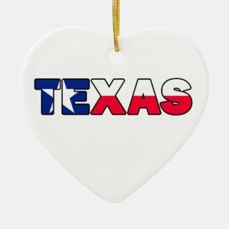 テキサス州 セラミックオーナメント