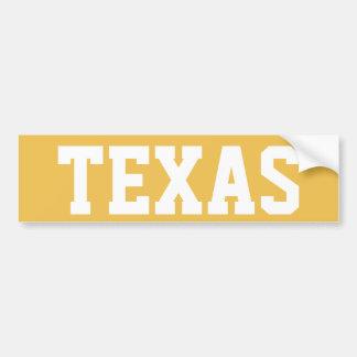 テキサス州 バンパーステッカー