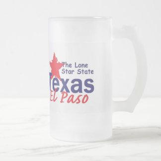テキサス州 フロストグラスビールジョッキ