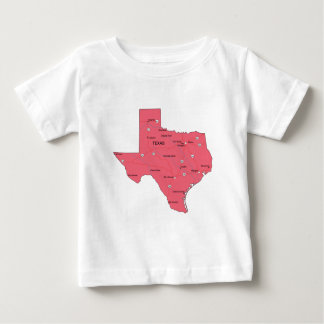 テキサス州 ベビーTシャツ