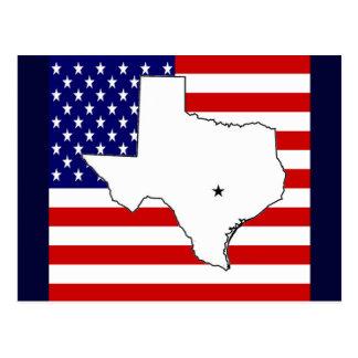 テキサス州 ポストカード