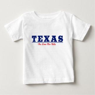 テキサス州-単独星の州 ベビーTシャツ