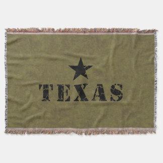 テキサス州、単独星の州 毛布