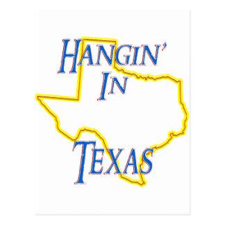 テキサス州- Hangin ポストカード