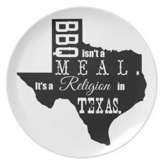 テキサス州BBQの宗教 プレート