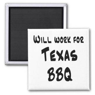 テキサス州BBQ マグネット
