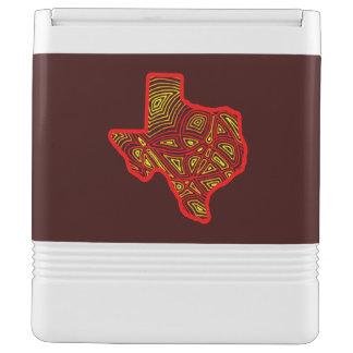 テキサス州Scribbleprint Iglooクーラーボックス