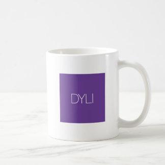 テキストメッセージDYLIのコーヒー・マグ ベーシックホワイトマグカップ