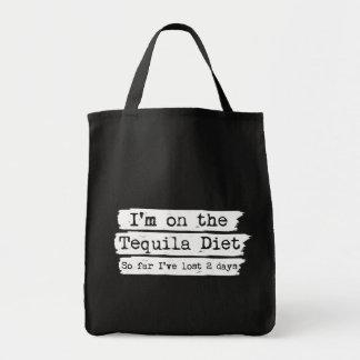 テキーラのダイエットのキャンバスのバッグ トートバッグ