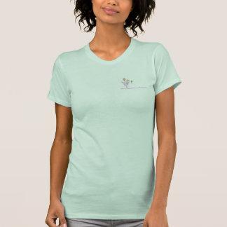 テキーラの女性のTシャツの後のアメリカのおばあさんのおもしろい Tシャツ