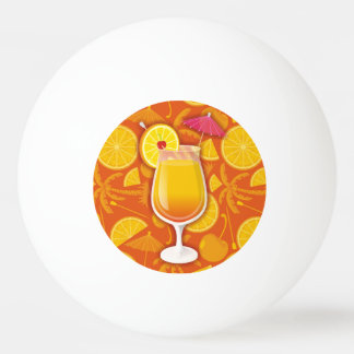 テキーラの日の出 卓球ボール