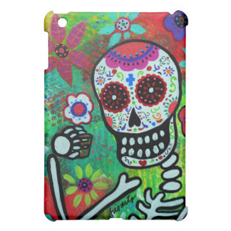 テキーラのSHOT DIA DE LOS MUERTOS IPADの例 iPad MINI カバー