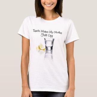 テキーラはあなたの衣服を下ります作ります Tシャツ