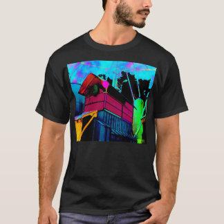 テクニカラーのサイロ Tシャツ