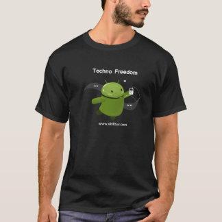 テクノの自由 Tシャツ