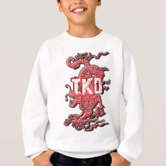 テコンドーのドラゴンはSweathirtをからかいます スウェットシャツ