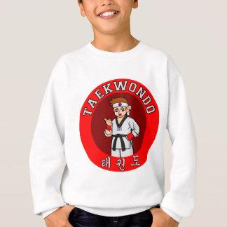 テコンドーの人のバッジ1 スウェットシャツ