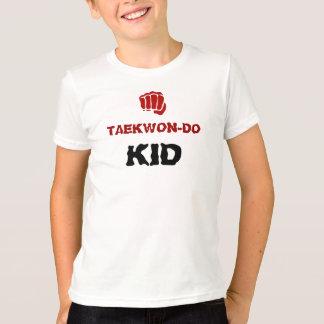 テコンドーの子供 Tシャツ