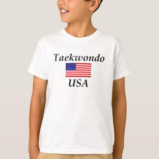 テコンドー米国 Tシャツ